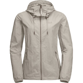 Jack Wolfskin Lakeside Jas Dames, dusty grey